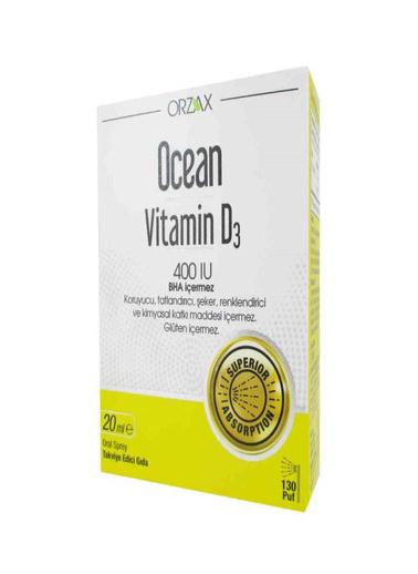 Ocean Ocean Vitamin D3 400 IU Oral Spray 20ml Renksiz